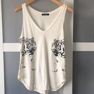 Women's Signorelli Soft Tank with Tiger Print